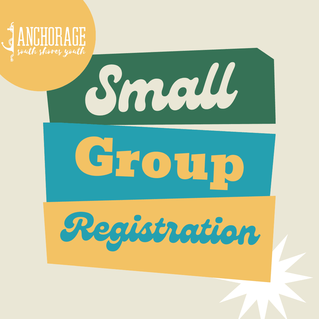 Small Groups Registration